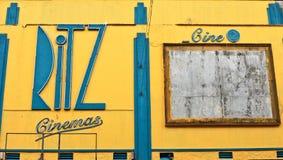 Кино Ritz Стоковое Изображение