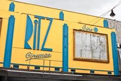 Кино Ritz Стоковое Фото