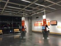 Киоск членства семьи IKEA в Австралии Стоковые Изображения RF