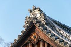 КИОТО, ЯПОНИЯ - 11-ое января 2015: Kan-в-никакое-miya место резиденции Kyo Стоковые Фото