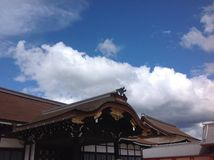 Киото Gosho в Киото Стоковая Фотография RF