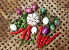 Кипеть еда овощей тайская Стоковая Фотография RF