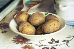Кипеть картошки с коричневой коркой Стоковое фото RF