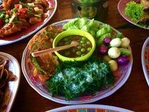 Кипеть овощем затир chili стоковые фотографии rf