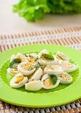 Кипеть половины яичек триперсток Стоковые Фото