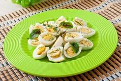 Кипеть половины яичек триперсток Стоковая Фотография RF