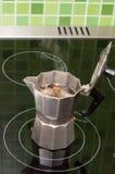 кипит создателя кофе Стоковые Изображения