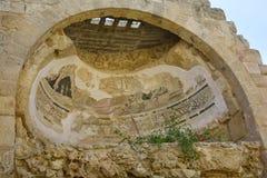 Кипр, старые салями стоковая фотография rf