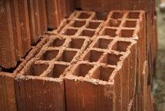 Кирпичи глины Стоковое Фото