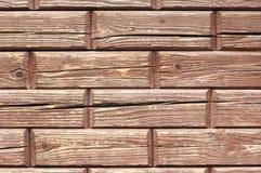 Кирпичи - деревянная tileable текстура Стоковое Фото