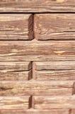 Кирпичи - деревянная tileable текстура Стоковая Фотография RF