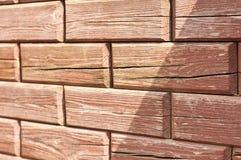 Кирпичи - деревянная tileable текстура Стоковая Фотография
