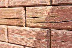 Кирпичи - деревянная tileable текстура Стоковое фото RF