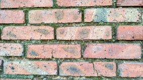 кирпичи кирпича много старая стена текстуры Стоковое Изображение