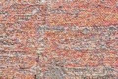 кирпичи кирпича много старая стена текстуры Стоковая Фотография
