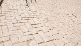 Кирпичи мостоваой, с несколькими шагов Стоковые Фото