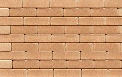 кирпичи предпосылки cork стена Стоковая Фотография
