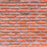 кирпичи bckground конструируют красную стену Стоковое Изображение