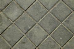 Кирпичи sett тротуара серые Стоковое Изображение RF