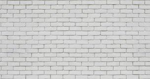 Кирпичная стена в белизне стоковая фотография