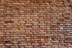 Кирпичная стена в Венеции Стоковые Фото