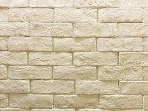 Кирпичная стена в мягком тоне Стоковое Фото
