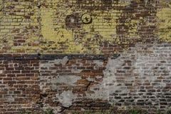 Кирпичная стена в Новом Орлеане Стоковые Фото