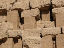 Кирпичная стена глины Стоковая Фотография RF