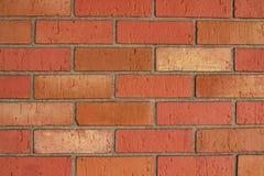 Кирпичная стена для пользы как предпосылка в шаблонах стоковое изображение