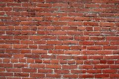 Кирпичная стена для предпосылки Стоковая Фотография RF
