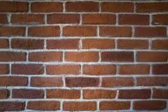 Кирпичная стена красной глины стоковая фотография rf