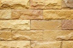 Кирпичная стена песчаника Стоковое фото RF