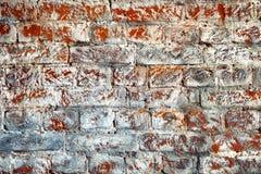 Кирпичная стена Предпосылка с текстурой кирпичной кладки Пустая предпосылка, космос Стоковые Фото