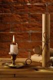 кирпичная стена предпосылки древностей Стоковые Фото
