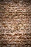 Кирпичная стена - старая крепость Стоковое Изображение