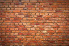 Кирпичная стена с виньеткой Стоковое Изображение RF