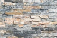 Кирпичная стена, текстура multi покрашенного каменного крупного плана блоков стоковые изображения rf