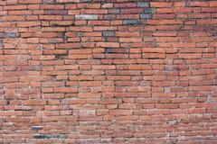 Кирпичная стена текстуры предпосылки старая винтажная Стоковое Фото