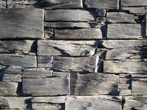 Кирпичная стена шифера Стоковая Фотография RF