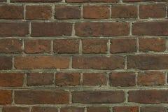 Кирпичная стена для картин и предпосылок Стоковые Изображения