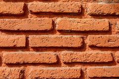 Кирпичная стена Orang Стоковая Фотография RF