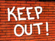 кирпич держит вне живые обои стены Стоковая Фотография
