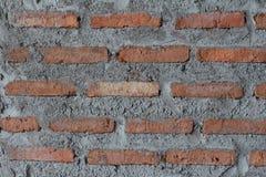 Кирпич кирпичной кладки стены красный Стоковое Изображение RF