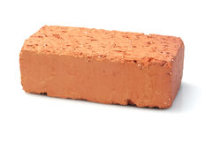 Кирпич красной глины Стоковые Изображения RF