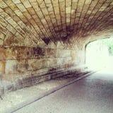кирпич моста тоннеля Стоковое Изображение RF