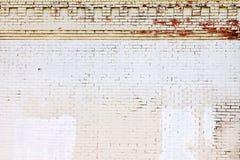 кирпич предпосылки покрыл стену текстуры grunge Стоковые Изображения