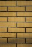 кирпич текстурирует tileable желтый цвет Стоковые Фотографии RF