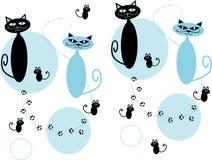 киска кота син Стоковое фото RF
