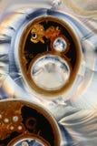 кисловочное замерли кристаллическое, котор Стоковая Фотография