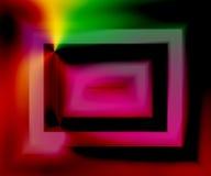 кисловочный экран иллюстрация вектора